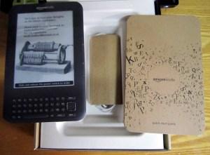 Kindle包装的内部结构